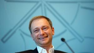 FDP bundesweit wieder bei fünf Prozent