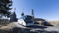 Zubringerdienste: An Wochenenden sollen künftig Pendelbusse Ausflügler auf den Feldberg fahren.