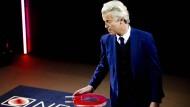 Geert Wilders muss sich bei der Wahl in den Niederlanden geschlagen geben