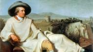 """Das Gemälde """"Goethe in der Campagna"""" von Johann Heinrich Wilhelm Tischbein"""