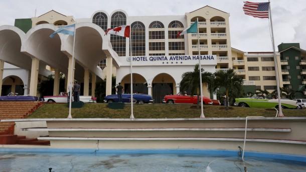 Vor obama besuch amerikas touristen entdecken kuba for Design hotel kuba