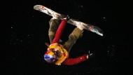 Kein oben, kein unten: Beim Big-Air in Gladbach zeigt die Snowboard-Weltspitze, was sie drauf hat
