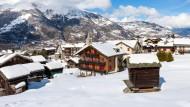 Euro-Fighter in den Schweizer Bergen