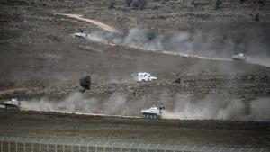 Israel schießt syrische Drohne ab