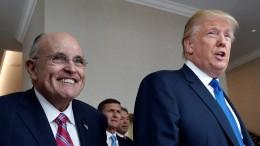 Anfangsverdacht gegen Giuliani