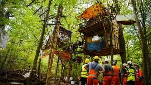 Droht im Hambacher Forst eine Eskalation?
