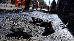 Zahlreiche Tote bei Explosion in Kabul