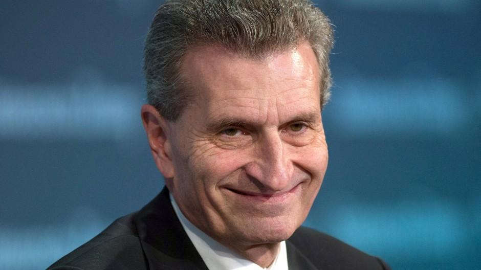 Hat sich schon einmal für seine Rede in Hamburg verteidigt: Günther Oettinger