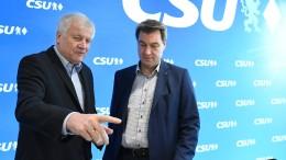 """""""Das Verhältnis zwischen Söder und Seehofer ist nicht repariert"""""""
