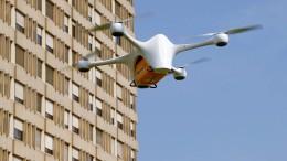 Wenn die Drohne vom Himmel fällt