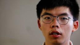 Demokratie-Aktivist Wong bittet Merkel um Unterstützung