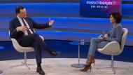 """Bundesgesundheitsminister Jens Spahn zu Gast bei Sandra Maischberger: """"Ich habe mir abgewöhnt, Dinge auszuschließen."""""""
