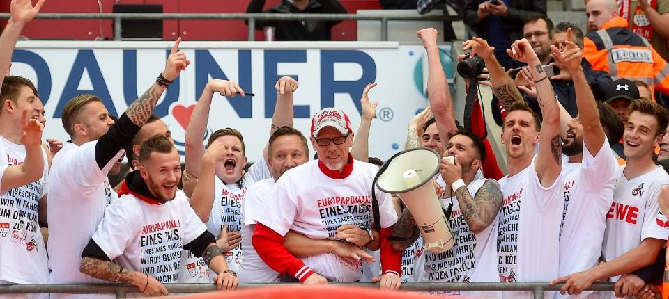 Der 1 Fc Köln Qualifiziert Sich Für Die Europa League