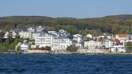Die Stadt Sassnitz auf der Insel Rügen hat etwa 9000 Einwohner.