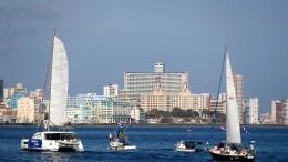 Kubas Bootsproteste gegen Handelsembargo der Staaten