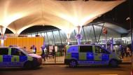 Polizeieinsatz in einem Londoner Einkaufszentrum