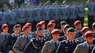 """""""Am Ende wird eine europäische Armee stehen"""""""