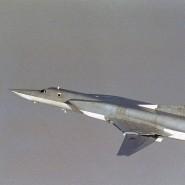 Eine russische Tupolev, fotografiert von der norwegischen Luftwaffe
