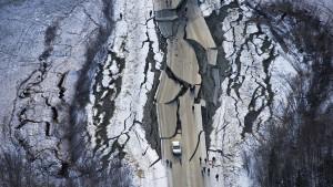 """""""Viele Brücken und Straßen sind gesperrt"""""""