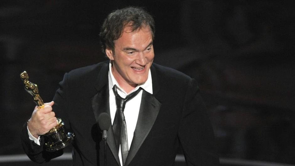 """Quentin Tarantino erhält im Jahr 2013 einen Oscar für """"Django Unchained""""."""