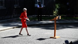 Premierministerin May kündigt Rücktritt zum 7. Juni an