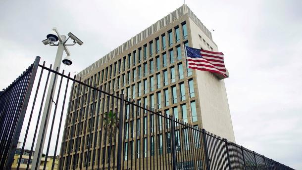 Mysteriöse Erkrankungen in amerikanischer Botschaft auf Kuba