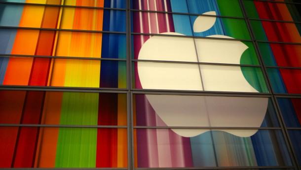 Apples Börsenwert erreicht zwei Billionen Dollar