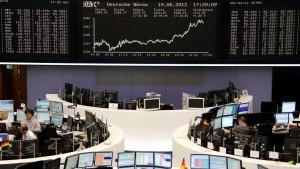 Notenbanken und Politiker bewegen die Aktienkurse
