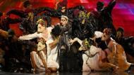 Queen of Pop: Madonna bei ihrem Auftritt beim Eurovision Song Contest 2019