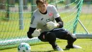 Zupackendes Naturell: René Adler hat sich mit Mainz 05 viel vorgenommen.