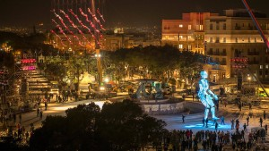 Valletta startet spektakulär ins Jahr als Kulturhauptstadt Europas