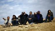 Flüchtlinge hoffen auf das Ende der Kämpfe