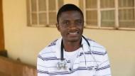 Martin Salia hatte in einem Krankenhaus in Sierra Leone gearbeitet.