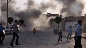 Türkei greift erstmals Ziele in Syrien an