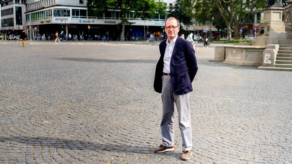 Will die Bewegung seriöser und bürgerlicher machen: Hajo Köhn, ein früherer Occupy-Aktivist