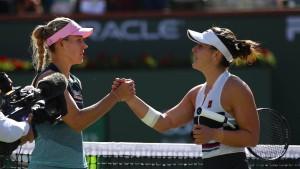 Kerber scheitert an Newcomerin – auch Federer verliert Finale
