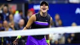 Das total verrückte Jahr der Bianca Andreescu