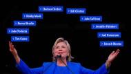 Das Netzwerk von Hillary Clinton