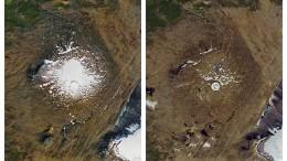 Das Eis verlässt Island