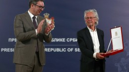 Orden für Peter Handke in Serbien
