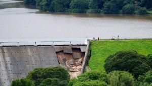 Damm in Nordengland ist wieder sicher