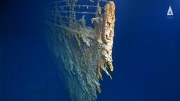 Neue Aufnahmen zeigen Verfall des Titanic-Wracks