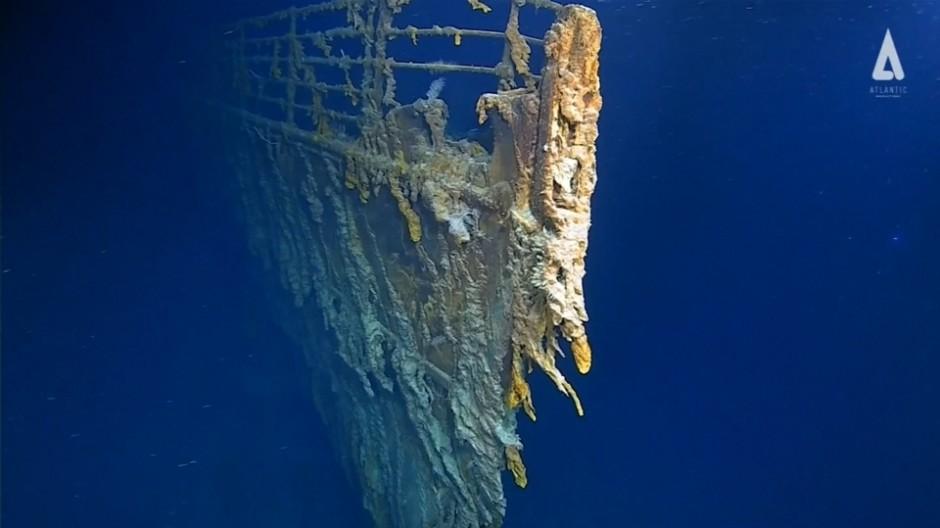 Neue Bilder von der Titanic
