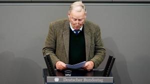 Debatte über Störer im Parlament