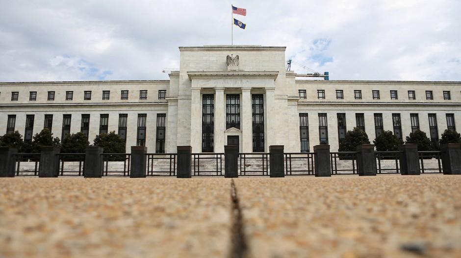 Amerikas Notenbank in Washington