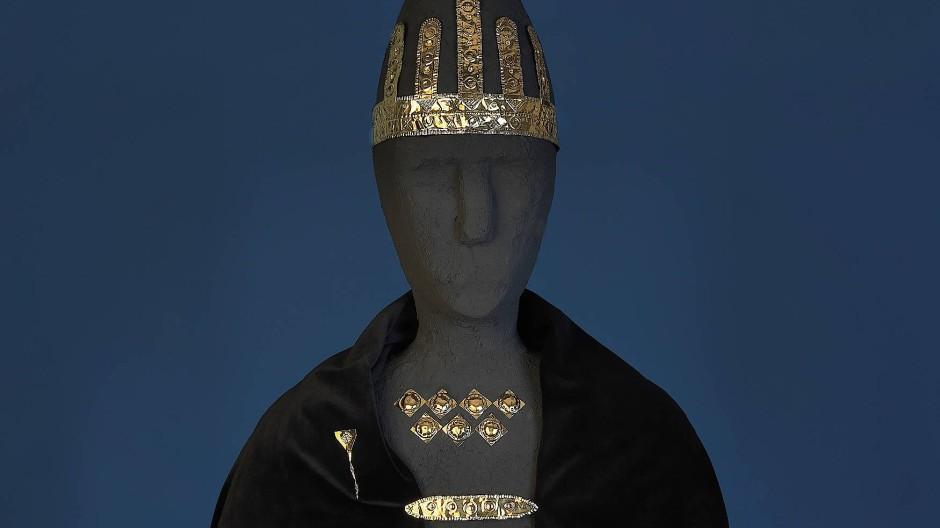 Das Bernstorfer Edelmetall könnte einst ein Kultbild geziert haben und die Verbindung des bronzezeitlichen Bayern zum Mittelmeerraum bezeugen. Wenn nur der Fälschungsverdacht nicht wäre.