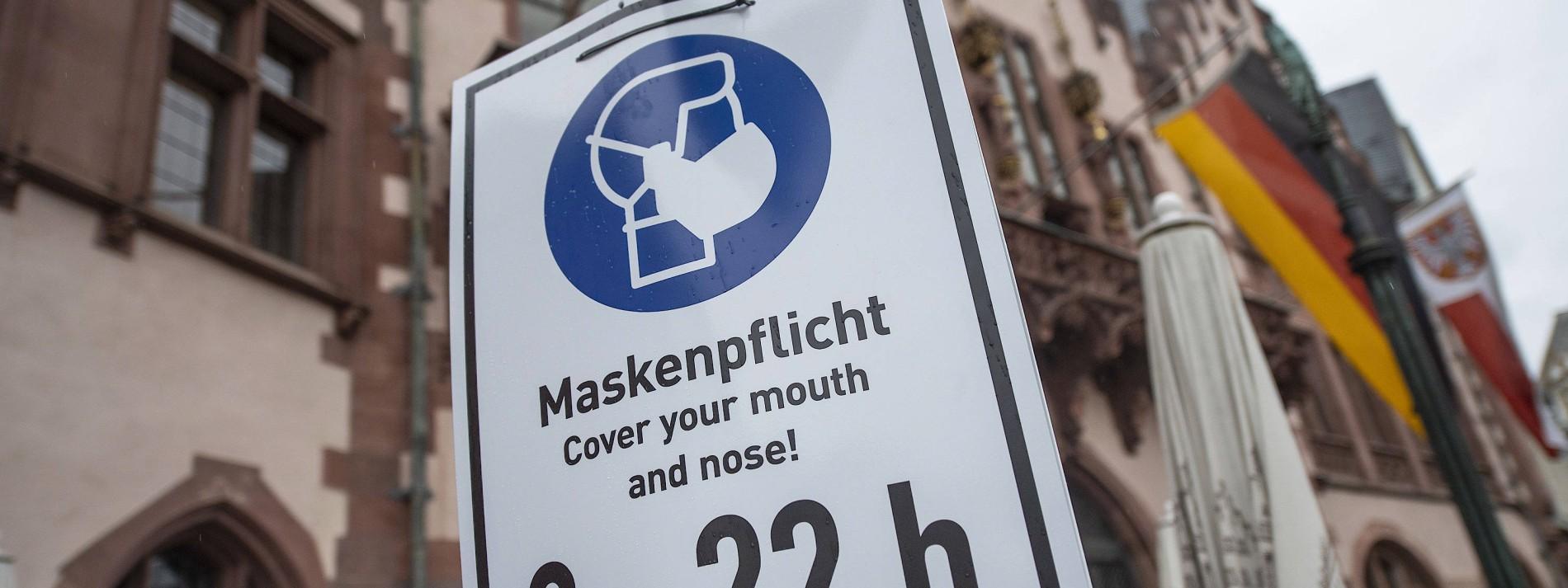 Frankfurter sollen möglichst überall Maske tragen
