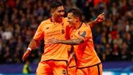 Der FC Liverpool überzeugt gegen Maribor und spielt sich in einen Rausch.