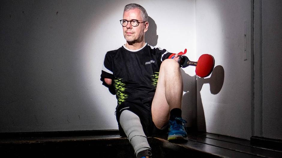 Theologe, Tischtennisspieler und Kabarettist: Der mehrfach Paralympics-Sieger Rainer Schmidt