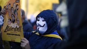 Katalanen glauben: Hartes Vorgehen wird Separatisten nützen